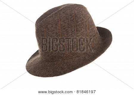 A Stylish Brown Bowler Hat