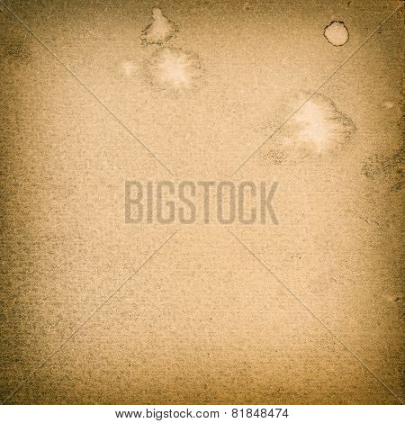 Textured Paper Background. Canvas With Vignette