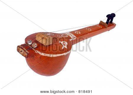 0Indian classical string instrument 'Tambura'