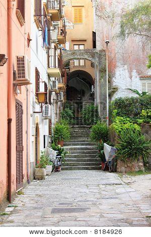 Urban scene of Gaeta