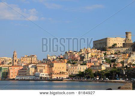 Paisaje de Gaeta (Italia)