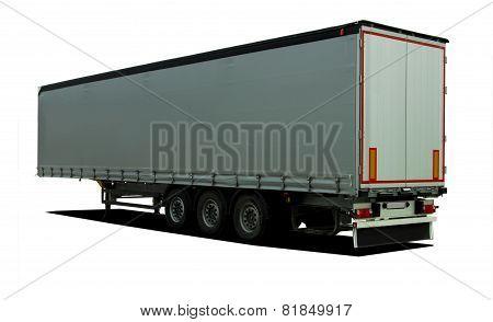Truck semi trailer