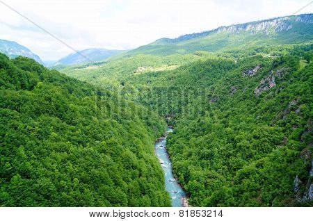 Tara River Canyon