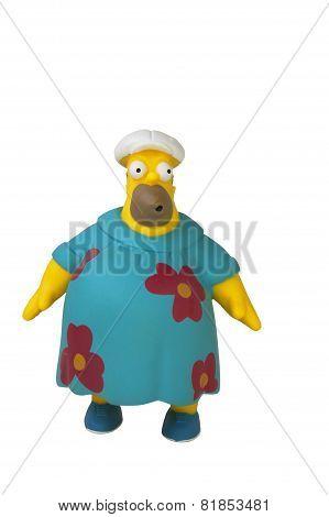 Moo Moo Homer Simpson Figurine