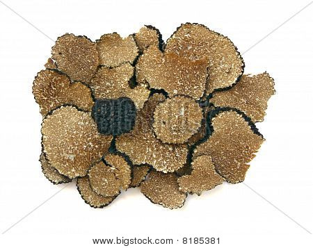 Sliced Black Truffles