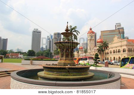 Fountain At Merdeka Square