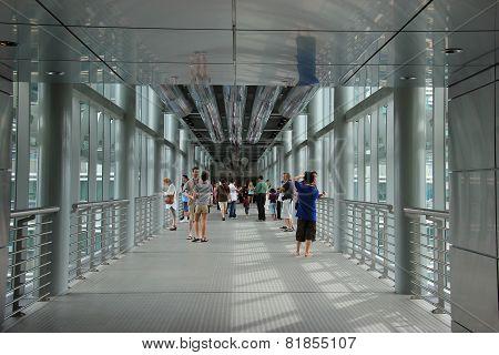 Skybridge Of Petronas Towers