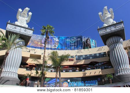 Hollywood And Highland Center, A Shopping Mall And Entertainment Complex In The Hollywood District I