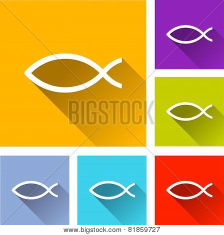 Jesus Fish Icons