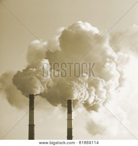 Smoke.