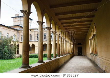 Colonnade In Sanssouci