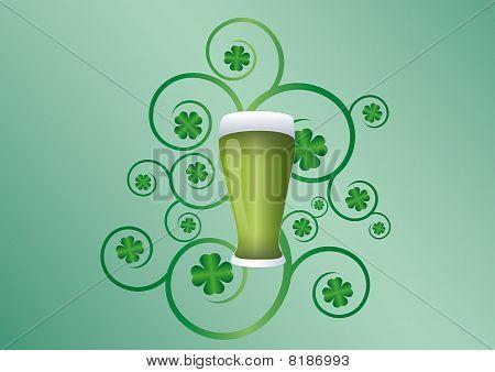 St Patricks day pint