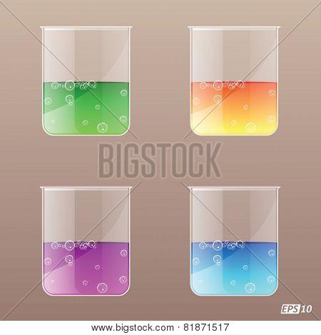 Beaker (Glass) - Illustration