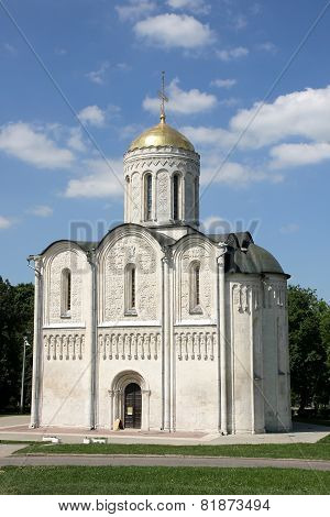 St. Demetrius' Cathedral in Vladimir
