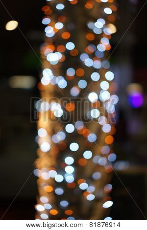 Bokeh from a tree