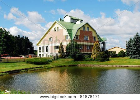 House In The Grutas Park Near Druskininkai Town