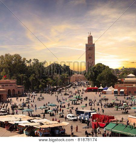 Marrakesh - Jemaa El Fna