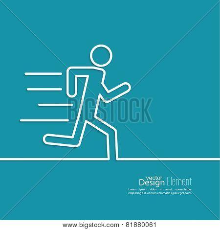 Running a human