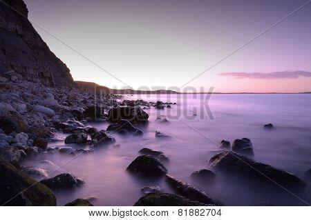 Sea Under The Cliff