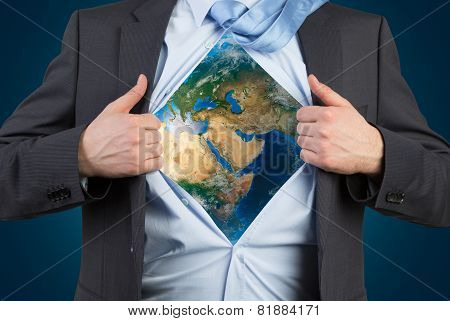 Shirt With Earth
