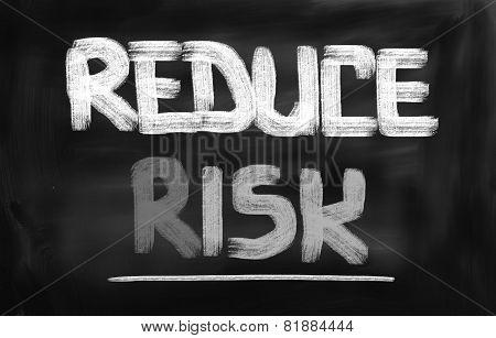 Reduce Risk Concept