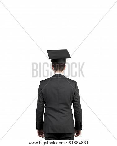 Student In Bachelor Hat