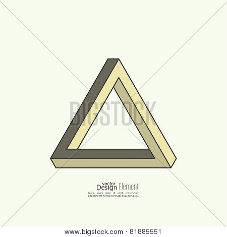 Infinite looped triangle.
