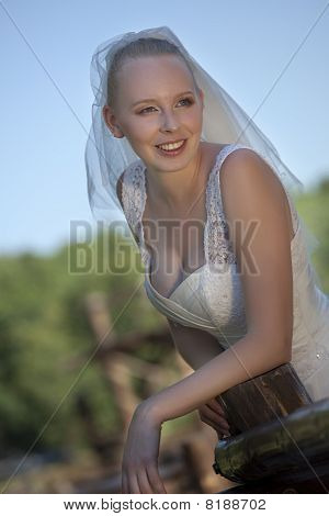 Happy Bride Outdoor