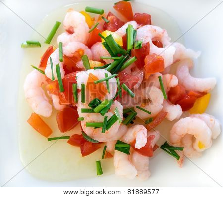 Shrimp Salad Mixed Coctail