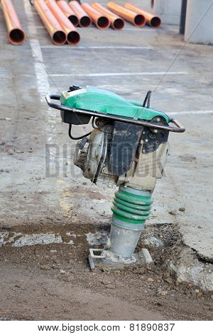 Gasoline Or Diesel Vibratory Plate Compactor