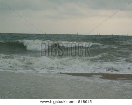 Restless sea