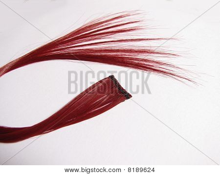 Red Hair Extension