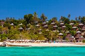 pic of phi phi  - a luxurious resort in Phi Phi Island a tropical Thailand island - JPG