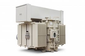 stock photo of fin  - Three phase 10000 kVA  - JPG