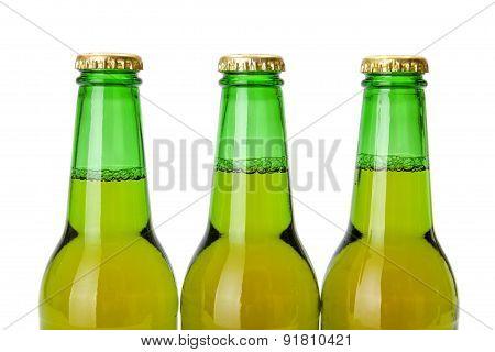 Green Beer Bottle Necks