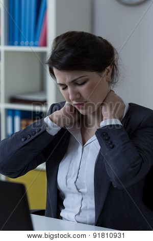 Neck Ache At Office