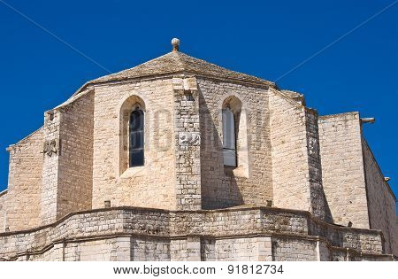 Cathedral church of Barletta. Puglia. Southern Italy.