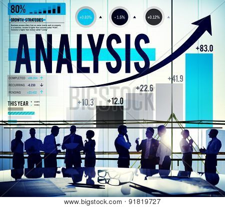 Analysis Planning Business Corporate Discussion Concept