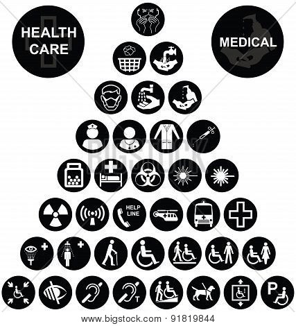 Medical and health care Icon collection