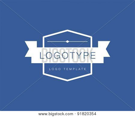 Label .Abstract vector logo design elements. Arrows, labels, symbols. Vector illustration
