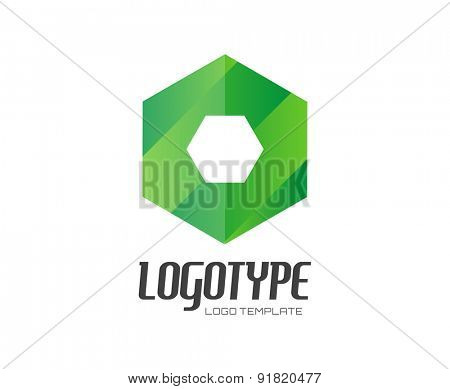 O. Abstract vector logo design elements. Arrows, labels, symbols. Vector illustration