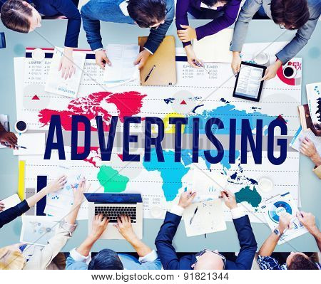 Advertising Marketing Campaign Business Commercial Concept