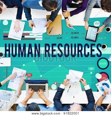 Human Resources Employment Recruitment HR Concept