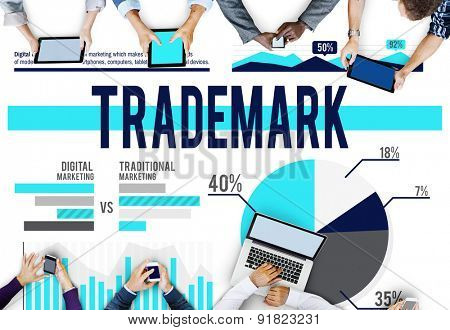 Trademark Branding Advertising Marketing Concept