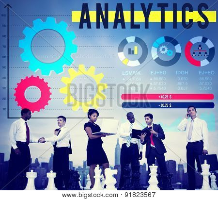 Analytics Analysis Big Data Business Corporate Concept