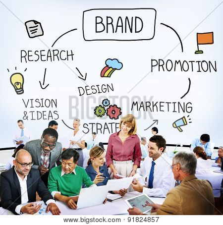 Brand Branding Marketing Product Copyright Concept