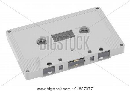 White Compact Cassette