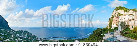 Panorama Of The Island