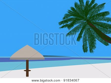 Tropical Beach Scene 02