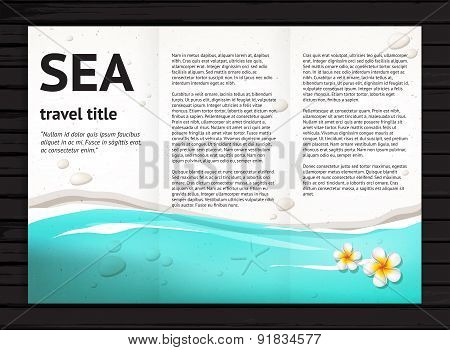 Sea Brochure Design